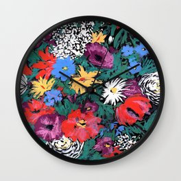 Redon floral Wall Clock
