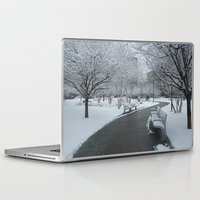 pittsburgh Laptop & iPad Skins featuring PITTSBURGH PARK by Stephanie Bosworth