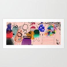 Funeral Art Print