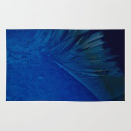 Feather of ice Rug