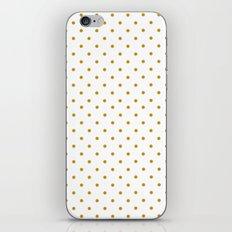 Golden Dots iPhone & iPod Skin