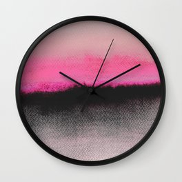 Double Horizon Wall Clock