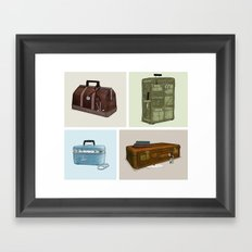 LOST Luggage (Composite). Framed Art Print