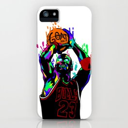 MJ THE G.O.A.T iPhone Case