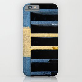 Sewer Grate Abstract Lines iPhone Case