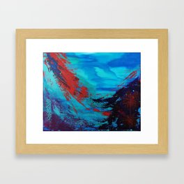 Underwater Life Framed Art Print