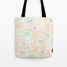 too many bunnies Tote Bag