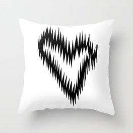 Lover's Lightning Throw Pillow