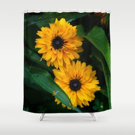 Susan's Flowers Shower Curtain