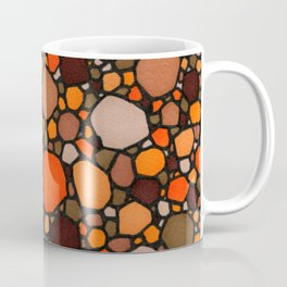 Brown and Orange Coffee Mug