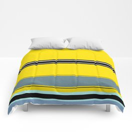 Gold pattern ( or a flat minion?) Comforters