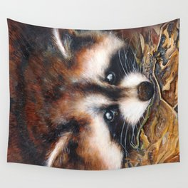 Raccoon Wall Tapestry