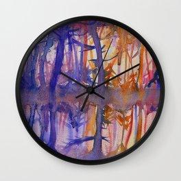 First Sun Rays Wall Clock
