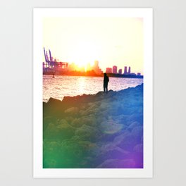Our Rainbow Art Print