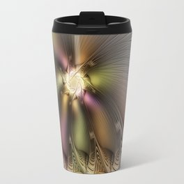 Abstract Fractal Fantasy Travel Mug