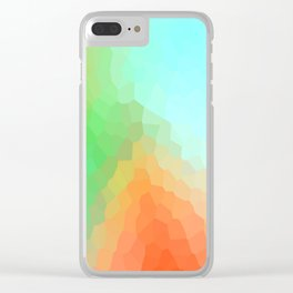 Relax Colors Clear iPhone Case
