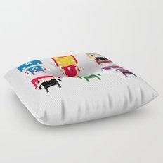 Pixel Avengers Floor Pillow