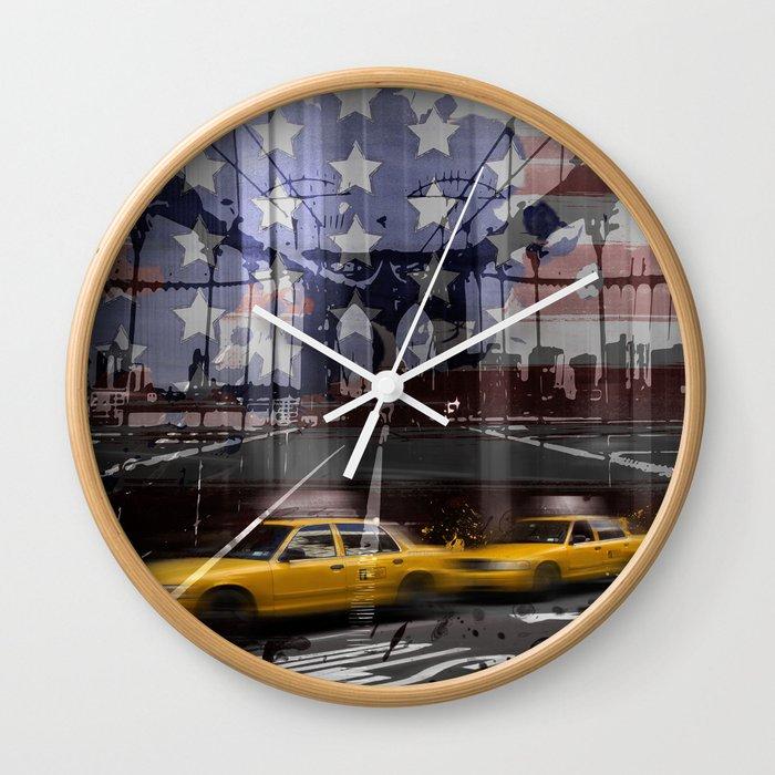 City-Art NYC Composing Wall Clock