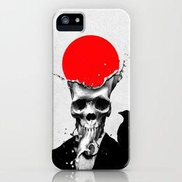 SPLASH SKULL iPhone Case