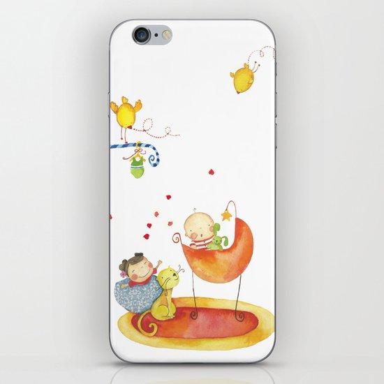 Baby surprise iPhone & iPod Skin