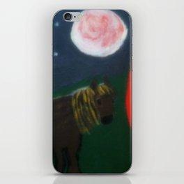 Horse And Gypsy Caravan iPhone Skin