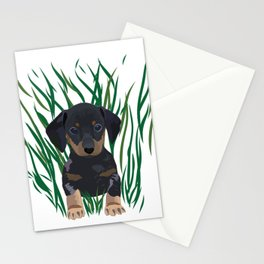 Sausage Dog Design Stationery Cards
