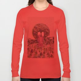 invisible forests Long Sleeve T-shirt