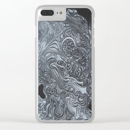 H.R.H. Clear iPhone Case