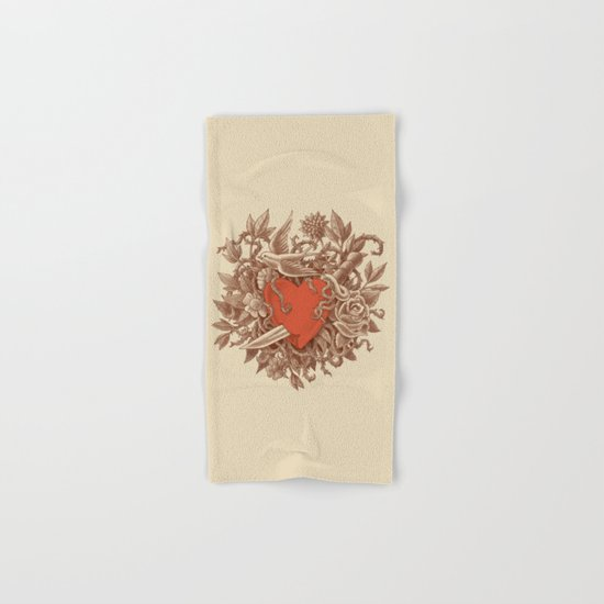 Heart of Thorns  Hand & Bath Towel