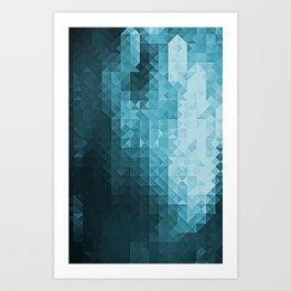 #3 GHOST Art Print