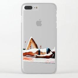 Splicing Clear iPhone Case