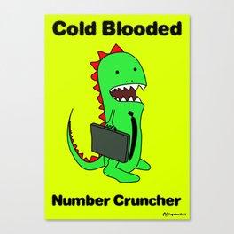 Business Lizard Canvas Print