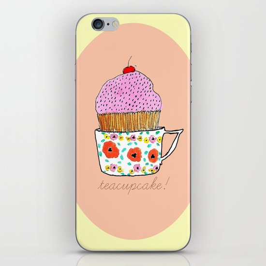 Teacupcake! iPhone & iPod Skin