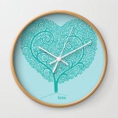 Love Growing Wall Clock