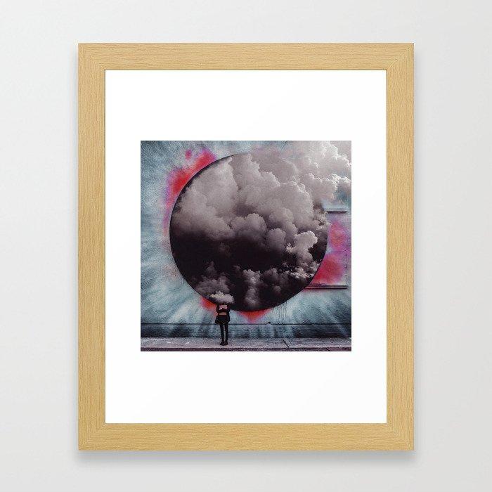 Clouded Judgment Framed Art Print