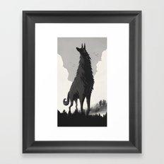 Walking Tall Framed Art Print