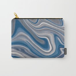 Liquify Series - Cloudy Skies Carry-All Pouch