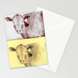Here's Looking at Moo Stationery Cards