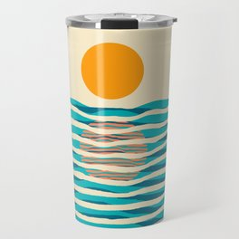 Ocean current Travel Mug