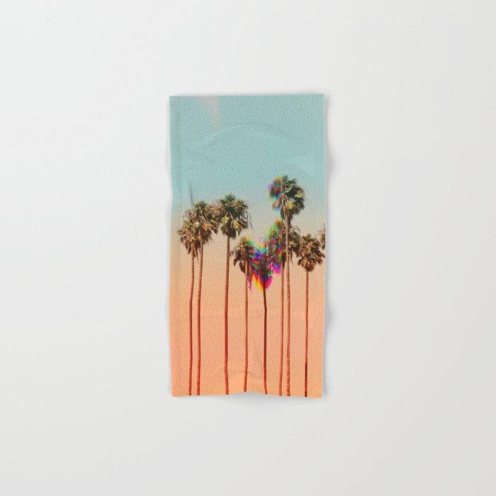 Glitch beach Hand & Bath Towel
