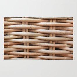 Rustic basket Rug