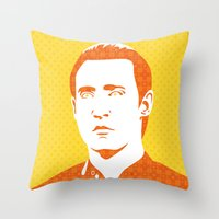 data Throw Pillows featuring Data by Matt Page