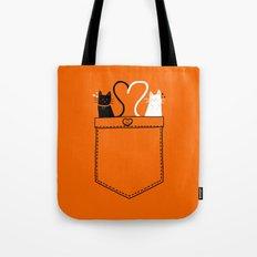 Po-Cats Love Tote Bag