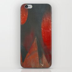 Red Moons iPhone & iPod Skin