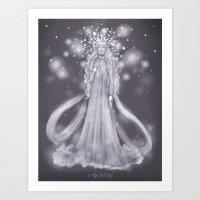 valar morghulis Art Prints featuring Varda, valar of light by ScottyTheCat