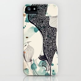 Bird from Egypt iPhone Case