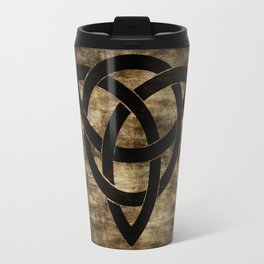 Wooden Celtic Knot Travel Mug