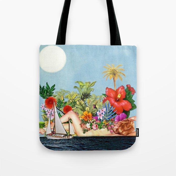 Siren Island Tote Bag