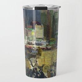 New York, 1911 by George Bellows Travel Mug