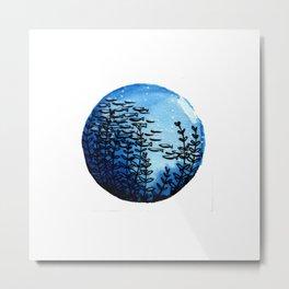 Aquarium Lora Metal Print
